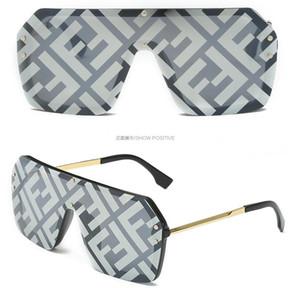 2020 The latest selling popular fashion men designer sunglasses F square plate metal combination frame top quality anti-UV400 lens