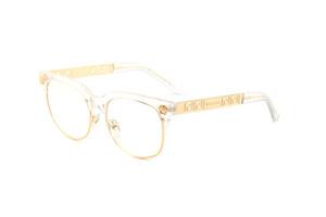 패션 라운드 선글라스 아이 태양 안경 디자이너 브랜드 블랙 메탈 프레임 망막 여성을위한 어두운 52mm 유리 렌즈 더 나은 갈색 경우
