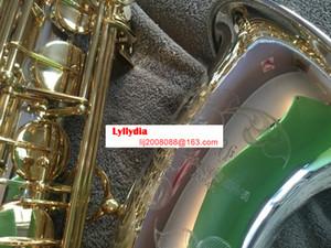 YANAGISAWA T-9937 T-WO37 Strumenti musicali Tenor Saxophone Bb tono argento tubo Gold Key Sax con il caso Bocchino guanti trasporto libero