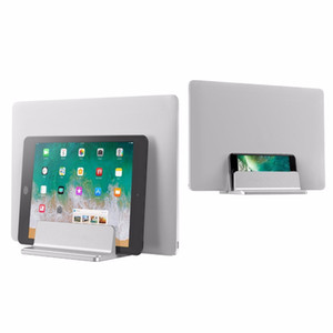 Laptop Suporte Vertical Projeto Desktop Espaço Saving Titular Espessura ajustável Suit Dock para Ipad MacBook Superfície Samsung Lenovo Laptop