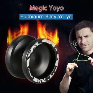 İplik Dize Dar C Ölçekli Rulman Profesyonel Yoyo T191031 Magic Yoyo V3 Duyarlı yüksek hızlı Alüminyum Alaşım Yoyo CNC Torna