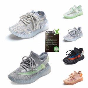 2020 Nueva Fashiony3 Zapatos Casual Botas Kanye West Y-3 Rojo Blanco Negro de alta Top zapatillas de deporte de los niños impermeable de cuero genuino # 430