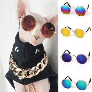 Fashion glasses pet cat dog sunglasses goggles pet cool glasses pet photo props
