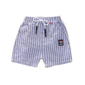 Summer Baby Boys Stripe Print Short Pants Trousers Casual Kids Cotton Shorts Children Clothing