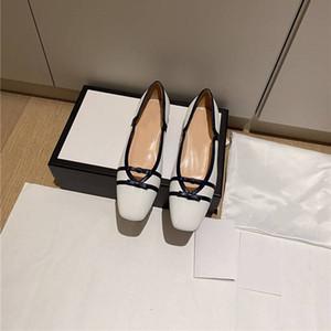 المرأة شقة الجلد الباليه مع وصول Horsebit جديد أصلي جلدي إمرأة شقق متعطل أحذية النسائية القوس مضخة حذاء 35-39
