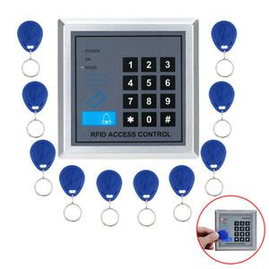 10 500 clés utilisateur AD2000-M Sécurité de proximité RFID Porte d'entrée de verrouillage du système de contrôle