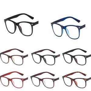 Rice nail glasses frame 2020 new retro classic trend fashion Korean flat mirror