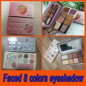 2019 Novo lançado Sugar Cookie ou Tickled Peach Mini Eyeshadow Compõem Palette Holiday Chirstmas paleta de sombra 8color