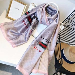 2020 Brand New Designer womans brand Scarf High Quality silk long scarves Classic Floral Printing design womans gûccì scarves size 180x90cm
