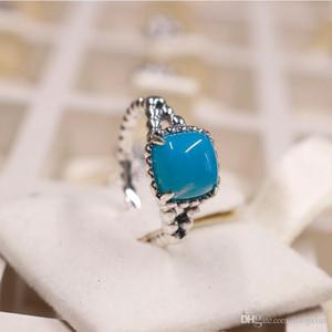 2018 verão 925 anel de prata esterlina pavão azul zircon original moda anéis encantos jóias diy para as mulheres fazendo
