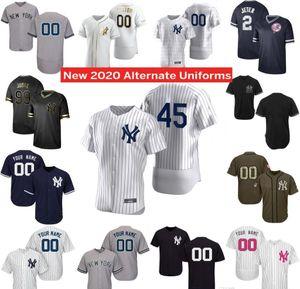 2020 45 Gerrit Cole Jersey Aaron Juiz Gary Sanchez Gleyber Torres DJ LeMahieu Giancarlo Stanton Luke Voit Aroldis Chapman Happ Baseball Jer