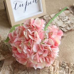 Hydrangea Bouquet Yiwu gros bouquet unique de simulation de fleur Hydrangea Fleurs Accueil Vie holding Décoration