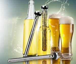 In acciaio inox vino liquore refrigeratore di raffreddamento bastone di ghiaccio asta in bottiglia versatore birra refrigeratore bastone raffreddare alcol bevande ghiaccio vino freddo SN2728