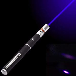 Della luce laser di vista del laser 5mW verde di alto potere Blu Red Dot potente Meter Laser 530nm 405nm 650nm penna verde