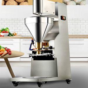 Yeni Yükseltilmiş Ticari Köfte Makinesi Doldurma Köfte Makinesi Otomatik Köfte Şekillendirme Makinesi 280 ADET / Mins / 1100W