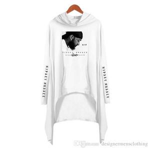 Nipsey Hussle Женщина Толстовка Конструктор с длинным рукавом 3D Printed платье США Рэппер Lady Сыпучей Мода Одежда