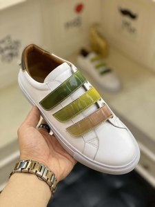 2020 wholesale men and women cheap white open shoes fashion designer men and women black stitching casual shoes 3 color low-top sneakers 898