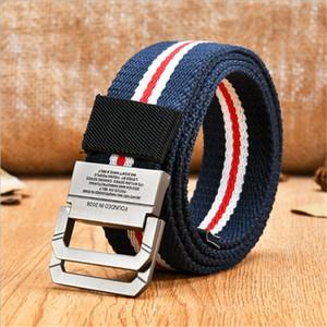 SupSindy Mode Casual hommes ceinture double anneau boucle bande toile ceinture designer de luxe Jeans pour femmes ceintures en nylon de haute qualité