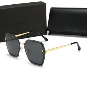 2219 impresión de la letra gafas de sol polarizadas UV400 acrílico Lentes de sol de conducción a caballo anti-radiación gafas de sol caliente libre de la venta