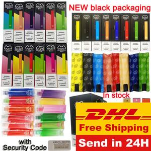 Puff Bar Disposable Device Vape Pen Starter Kits 1.3ml Pods Puffbar Vape Cartridges NEW packaging Puff Bars Vaporizer Ecigs Kit Empty