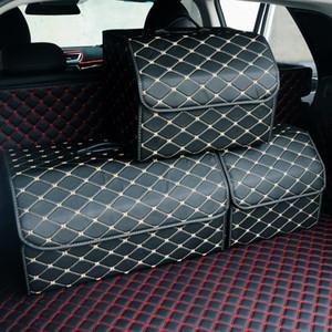 Автомобиль мульти-карманный багажник сумка организатор игрушки пищевой контейнер сумки большой емкости складной мешок для хранения багажник укладка и уборка