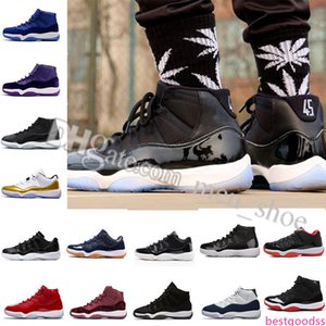 Men Women 11 Space Jam 45 Basketball Shoes 11s Space Jam With Number 45 Sports Sneakers Shoes Free Shipping size US 5.5-13 Eur 36-47