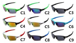 9 cores Homens Sports UV400 óculos de sol à prova de explosão Ciclismo Óculos Mulheres Outdoor Vento Eye Protector Sunglasses Ciclismo Óculos A +++