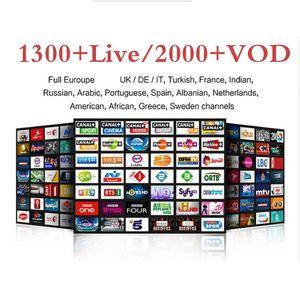 Para TV árabe Sports Itália Alemanha 1300+ Europeia Árabe Apk Trabalho na caixa E2 Android SmartTV