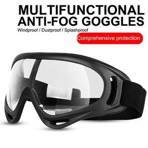 Segurança de protecção Óculos respingo Goggle Anti-Fog à prova de vento totalmente fechados Limpar Óculos com proteção UV de alta qualidade