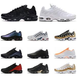 Nike Air Max Plus TN Ultra Homens sapatos de desporto running vermelhas e Universidade Desert Preto Teal Red Light Triplo Preto esportes tênis sob medida 40-45