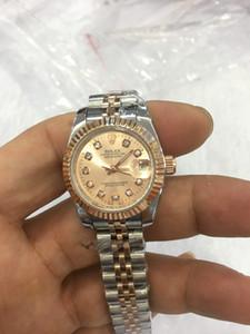 Lüks Yüksek Kalite İzle 26mm Lady 279171 Başkan Datejust 18k Rose Gold Diamond 2813 Mekanik Otomatik Bayanlar Kadınlar seyretmek dial