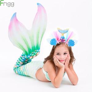 Frigg Headband A Pequena Sereia Decoração Crianças Mermaid Partido Birthday Party Supplies Tema Favor Presente da menina