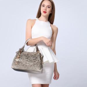 Jiulin kadın çanta oymak ombre çiçek baskı omuz crossbody çanta bayan pu deri kılıf moda messenger çanta kadın