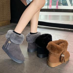 2020 neve do inverno das mulheres de couro ajoelhar meio de comprimento Botas Preto Grey Castanha marinha sapatos azul menina Womens café vermelhos