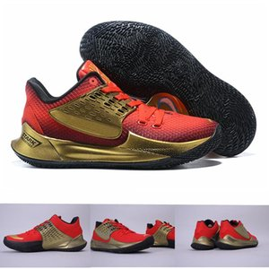 New Arrival Iron Man Stark Kyrie 2 Low Basketball Shoes Sponge Sunset Graffiti Mens Trainers Designer Sports Sneakers