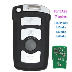 4 botões CHEIA chave remota Fob 315LP MHZ 868MHz 315MHz 433MHz para BM W Série 7 E65 E66 COM CHIP ID7944 / ID46 CAS1 HU92 SEM CORTES