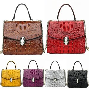 Zmqn Luxury Crocodile Shoulder Bag Women Bags Designer Bags For Women 2020 Fashion Crocodile Leather Bags Crocodile Shoulder Bag Women Fa#204