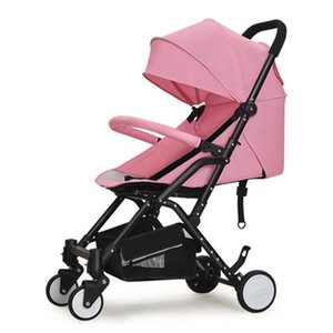 Baby stroller can be easily boarded on the plane, ultra light, portable, high landscape, sitting, folding, baby, newborn car