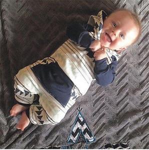 CANIS Nouveau-né Enfants Baby Boy Striped Romper Bebe Garçons Barboteuses Jumpsuit Vêtements Combishort à capuchon Tenues Ropa Romper