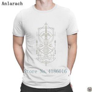 di Zelda ultima maglietta creativo degli uomini della camicia da uomo uomo o nuova anlarach collare hip hop