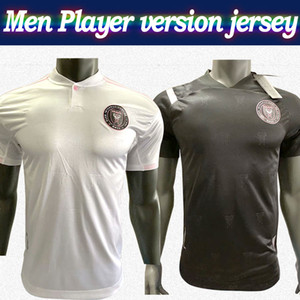 Player Version MLS 2020 Inter Miami # 23 BECKHAM Fußball-Trikot 20/21 Männer Fußballhemd weiß schwarz Customized MLS-Fußballhemd Reduziert