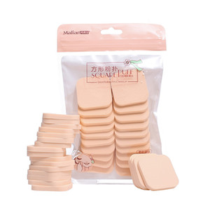 20pcs bag Wet and Dry Use Makeup Sponge Powder Puff Foundation Cosmetic Facial Sponges Soft Powder Puff for BB Cream Blush Hot