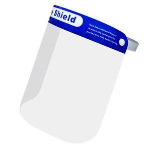 Máscaras anti-gotas de anti-vaho a prueba de polvo Mascarilla escudo protector de la cubierta transparente Cara Ojos Protector de seguridad