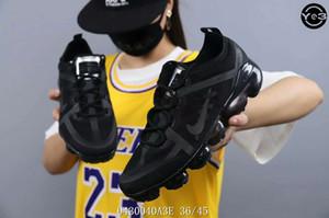 2020 Yeni koşu ayakkabıları en kaliteli BAUHAUS OPTIK üçlü siyah moda erkek eğitmen dantel-up nefes spor sneakers boyutu 36-45