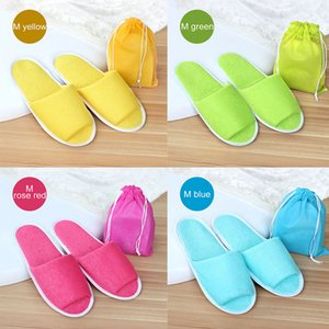 Home & Garden Slippers Men Women Hotel Travel Spa Portable Folding House Disposable Home Guest Indoor Slippers Big Size Shoes
