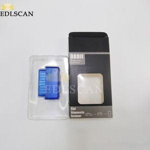 Edlscan OBDII 코드 리더 ELM327 Bluetooth 무선 차량 진단 도구 ELM327