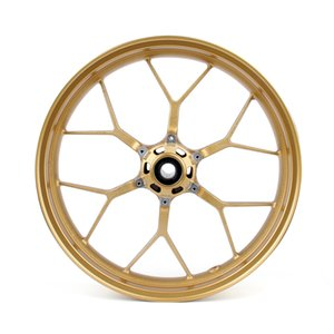Areyourshop Motorcycle CNC Front Rear Wheel Rim For Honda CBR1000RR 2008-2014 2011-13 Gold Motorbike Accessories Parts