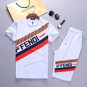 2020 costume sport fermeture à glissière de la mode des hommes de créateurs européens costume décontracté hommes d'impression chemise et un pantalon de sport à capuche Medusa