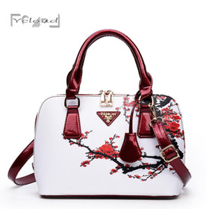Оптово-Китай Стиль Оригинальная сумка на плечо Lady Retro Shell Handbag Sac a Женщины Дизайнерские сумки высокого качества Женская сумка