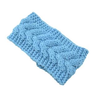 mazarine élastique à tricoter bande de cheveux à la main de laine fil bandeau accessoires pour chaud automne et d'hiver Cheveux Bandes